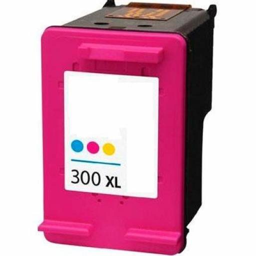 HP 300XL TRICOLOR cartucho alternativo CC644EE