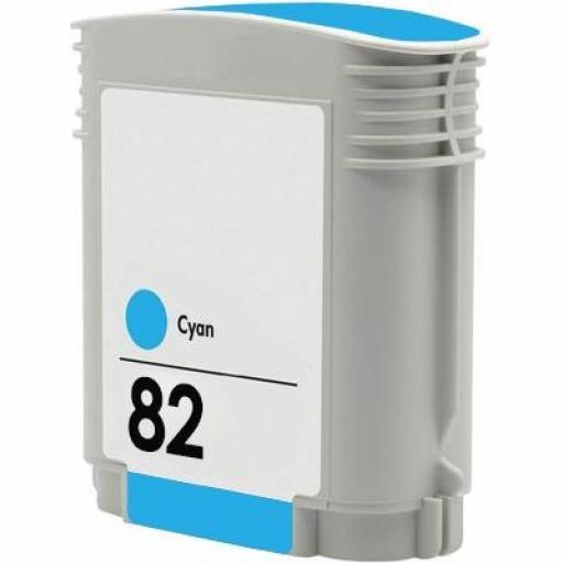 HP 82 CYAN cartucho alternativo C4911A [0]