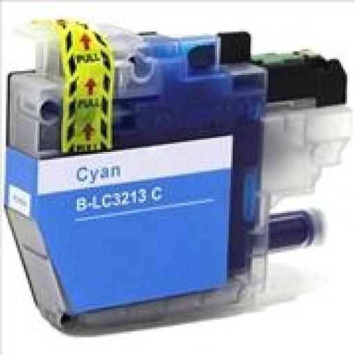 BROTHER LC3213/LC3211 CYAN  cartucho alternativo