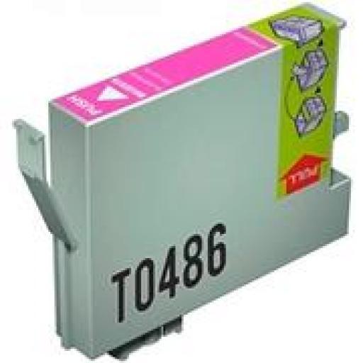 EPSON T0486 cartucho alternativo C13T04864010 MAGENTA CLARO