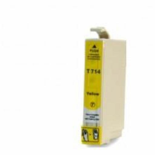 EPSON T0714 cartucho alternativo C13T07144010 AMARILLO