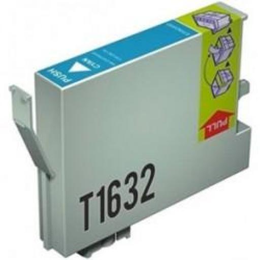 EPSON T1632 CYAN cartucho alternativo C13T16324010