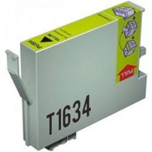 EPSON T1634 AMARILLO cartucho alternativo C13T16344010