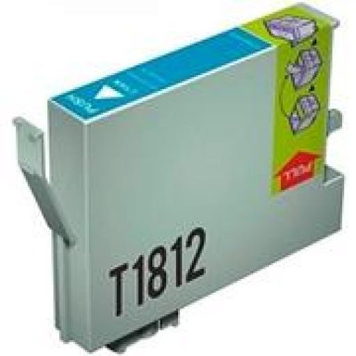 EPSON T1812 CYAN cartucho de tinta alternativo C13T18124010