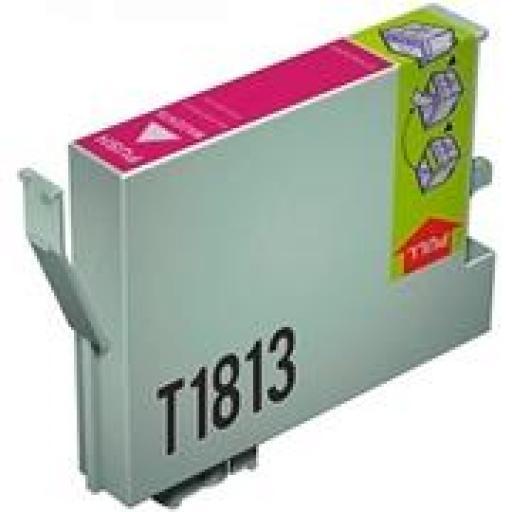 EPSON T1813 MAGENTA cartucho de tinta alternativo C13T18134010
