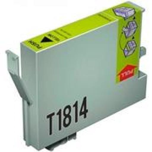 EPSON T1814 AMARILLO cartucho de tinta alternativo C13T18144010