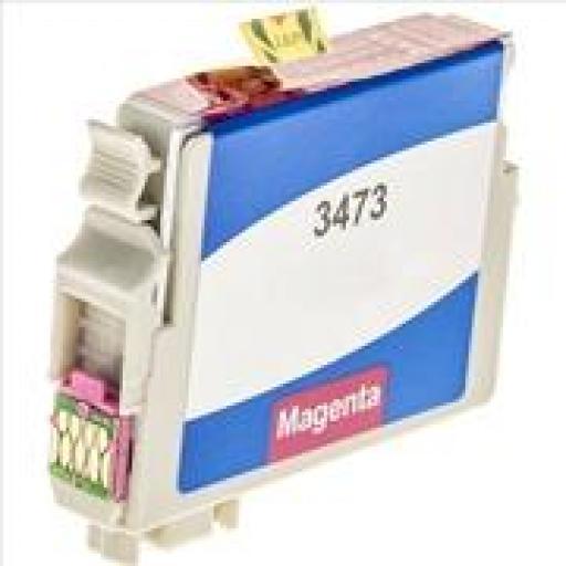 EPSON T3473/T3463 (34XL) MAGENTA CARTUCHO DE TINTA GENERICO C13T34734010/C13T34634010