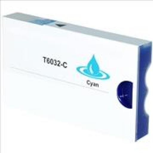 EPSON T603200/T563200 CYAN cartucho tinta pigmentada alternativo C13T603200/T563200