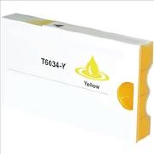 EPSON T603400/T563400 AMARILLO cartucho tinta pigmentada alternativo C13T603400/T563400