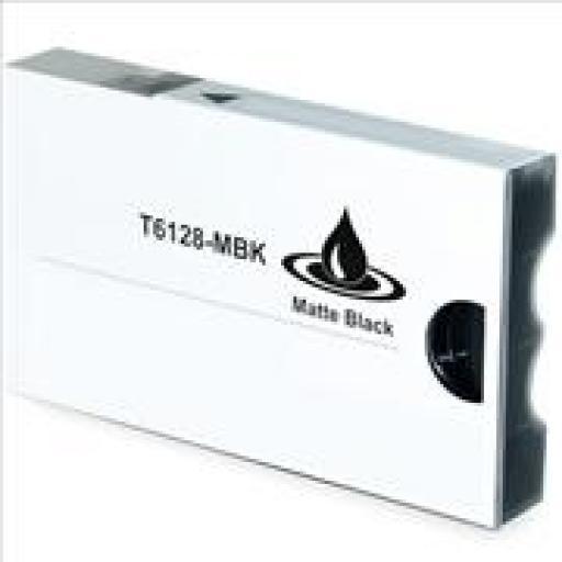 EPSON T612800/T567800 NEGRO MATE cartucho tinta pigmentada alternativo C13T612800/T567800