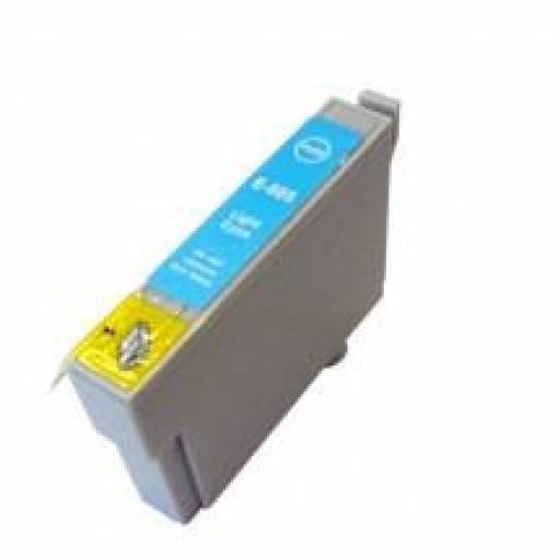 EPSON T0805 cartucho alternativo C13T08054010 CYAN LIGHT