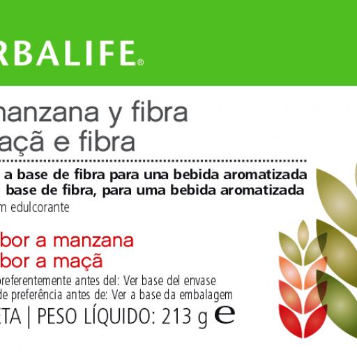 Bebida con Avena, Manzana y Fibra Herbalife- Sin azúcar [1]