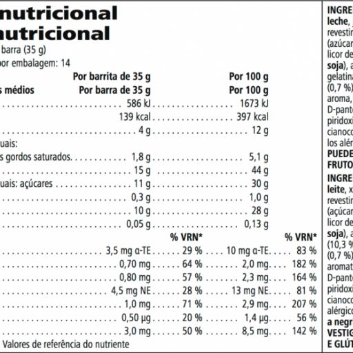 Barritas con Proteinas Herbalife [1]