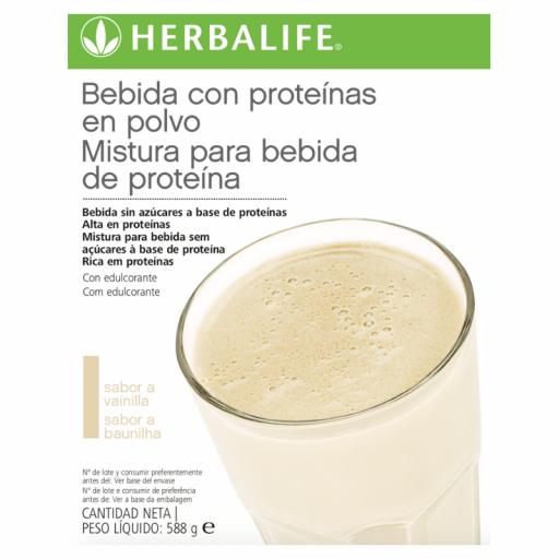 Bebida con proteínas en polvo Herbalife [1]