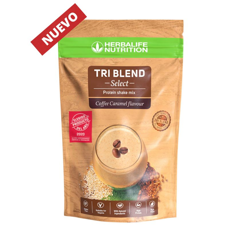 Batido de Proteína Tri Blend Select Herbalife Caramel