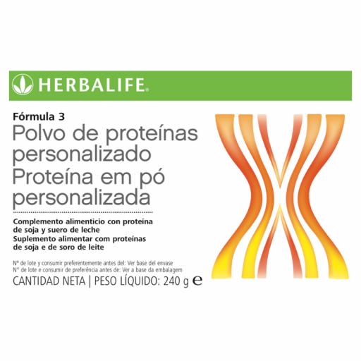 Fórmula 3 polvo de proteínas personalizado Herbalife [1]