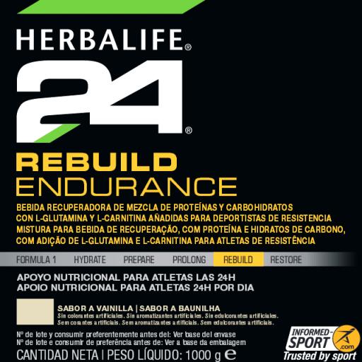 Rebuild Endurance Herbalife , Vainilla [1]