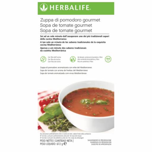 Sopa de Tomate Gourmet Herbalife [1]