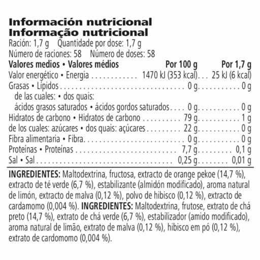 Bebida Instantánea de Hierbas de Té Herbalife de 100g [2]