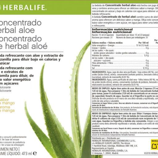 Concentrado Herbal Aloe Herbalife [2]