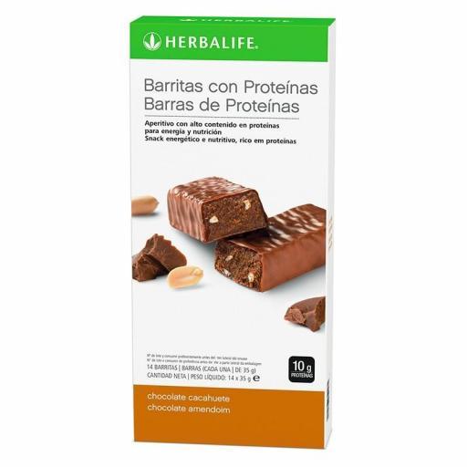 Barritas con Proteinas Herbalife