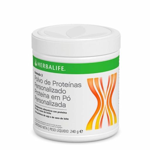 Fórmula 3 polvo de proteínas personalizado Herbalife