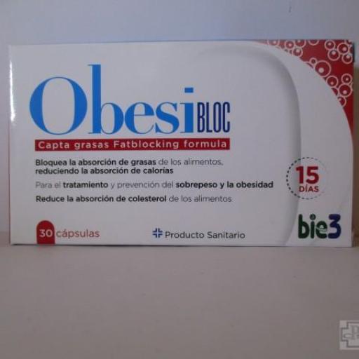 OBESIBLOC BIE3 30 CAPSULAS