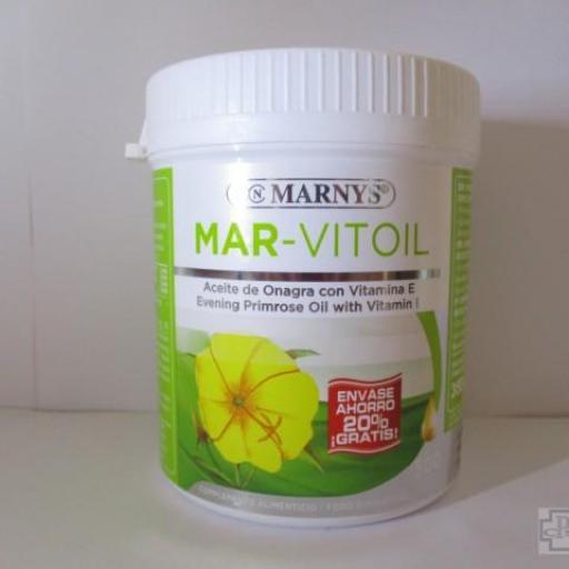 MAR-VITOIL MARNYS ACEITE DE ONAGRA 500 CÁPSULAS