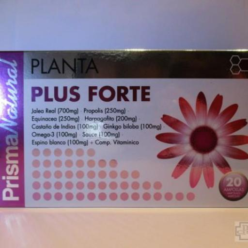 PLANTA PLUS FORTE PRISMA NATURAL 20 AMPOLLAS