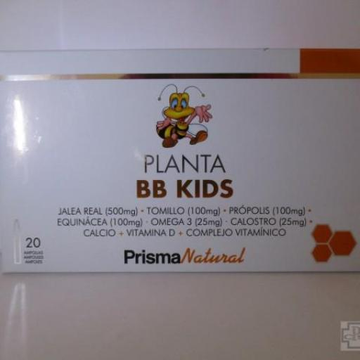 PLANTA BB KIDS PRISMA NATURAL 20 AMPOLLAS