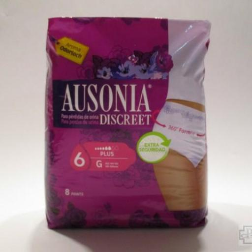 AUSONIA DISCREET  6 PLUS TALLA G 8 PANTS [0]