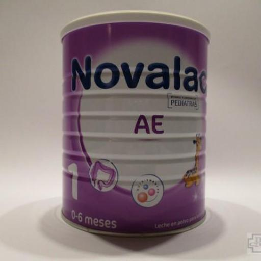 NOVALAC AE 1 LECHE EN POLVO PARA LACTANTES 800 GR.