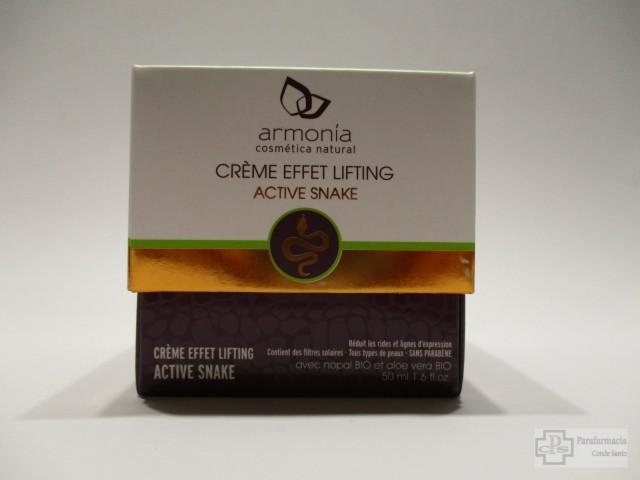 ARMONIA CREMA EFECTO LIFTING ACTIVE SNAKE 50 ML.