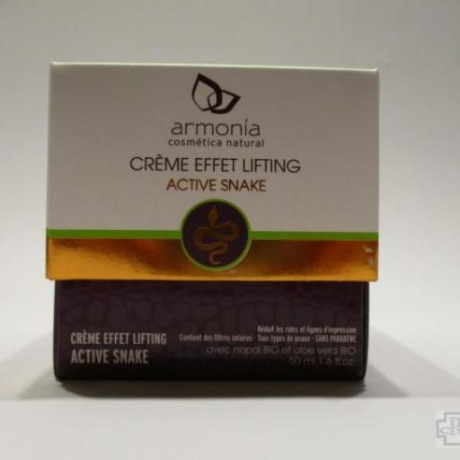 ARMONIA CREMA EFECTO LIFTING ACTIVE SNAKE 50 ML.