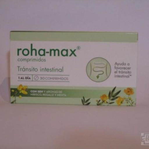 ROHA-MAX COMPRIMIDOS 30 COMPRIIMIDOS