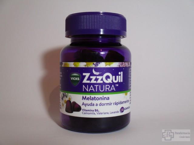 ZZZQUIL NATURA VICKS 30 GOMINOLAS