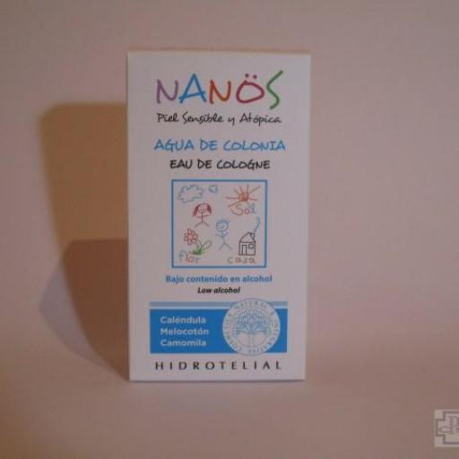 NANÖS AGUA DE COLONIA 100 ML.