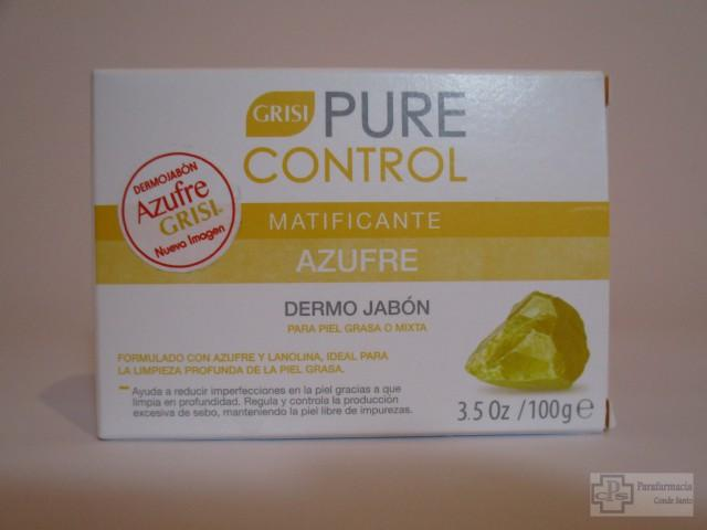 GRISI PURE CONTROL  JABON MATIFICANTE 100 GR.
