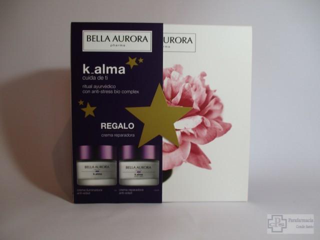 K-ALMA BELLA AURORA, CREMA ILUMINADORA ANTI-EDAD + CREMA REPARADORA ANTI-EDAD