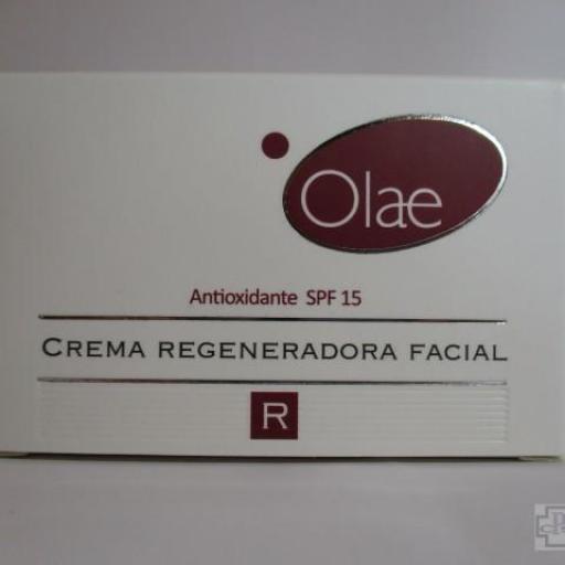 OLAE CREMA REGENERADORA FACIAL ANTIOXIDANTE SPF15 LCO PHARM 50ML.