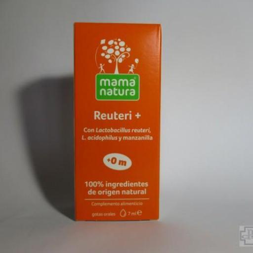 REUTERI + MAMA NATURA 7 ML. + 0 M
