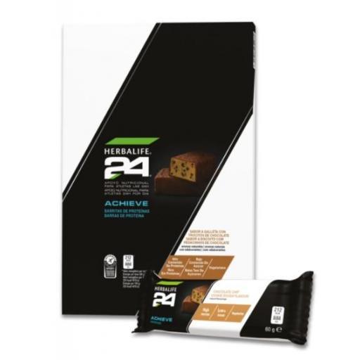 Barritas de Proteínas Achieve H24 Galleta