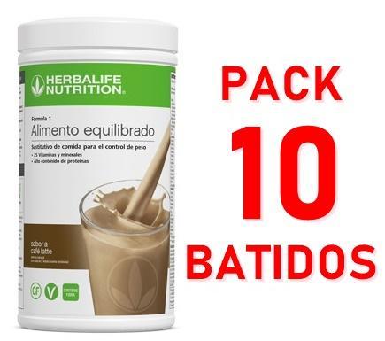 Pack 10 Batidos Fórmula 1