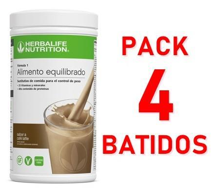 Pack 4 Batidos Fórmula 1