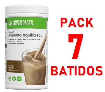 Pack 7 Batidos Fórmula 1