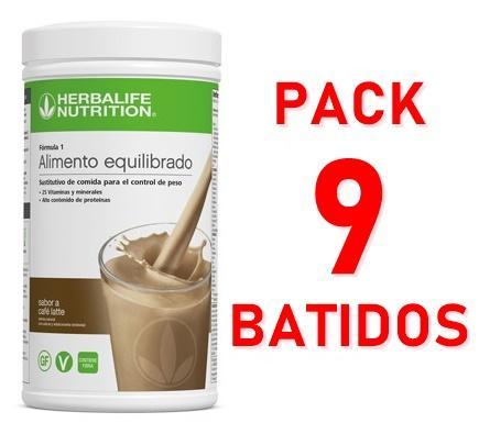 Pack 9 Batidos Fórmula 1