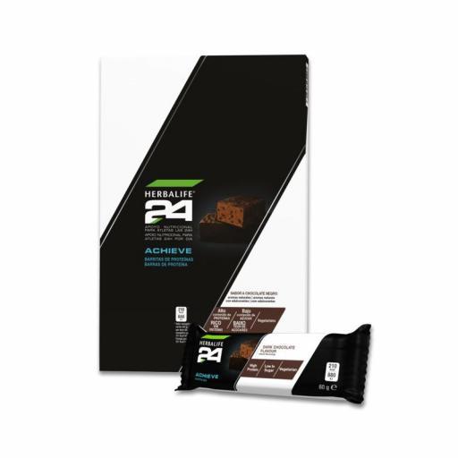 Barritas de Proteínas Achieve H24 Chocolate