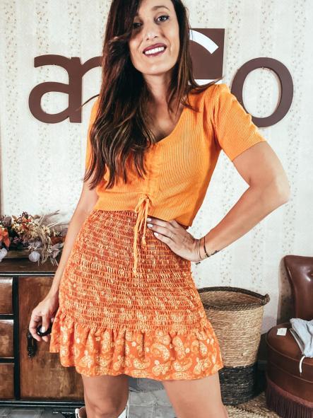 Falda BEE Naranja
