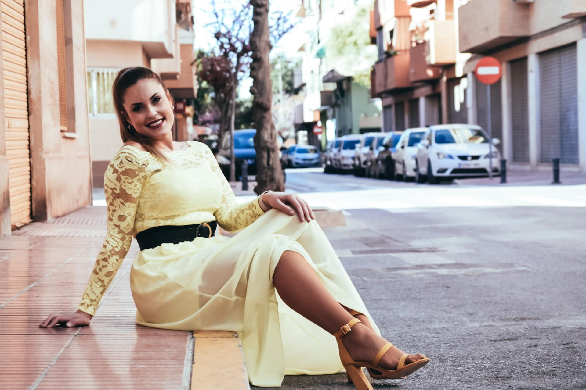 Falda CALPE Amarilla