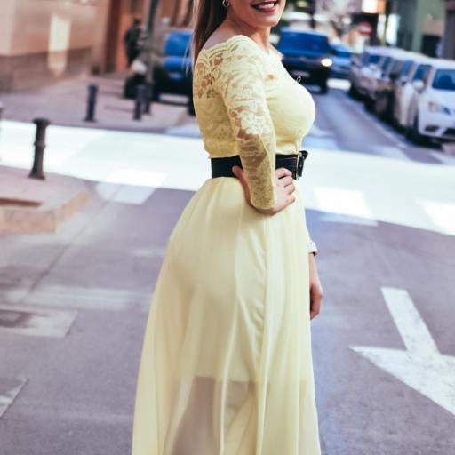 Falda CALPE Amarilla [2]